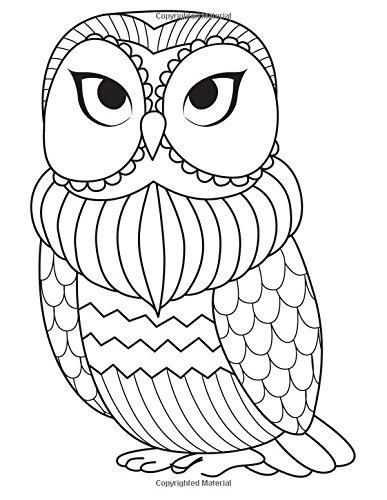 Blank Book Journal Owl Zentangle Cover Diary Notebook 8 5 X 11