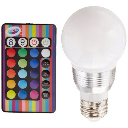 Buy Crayola Remote Control Color Changing Led Light Bulb At