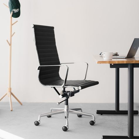 Soho Tall Back Ribbed Management Chair