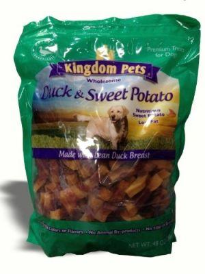 Kingdom Pets Premium Dog Treats Duck By Petious Dog Food Recipes Homemade Dog Food