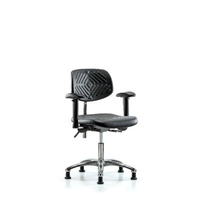 Symple Stuff Kinsley Desk Height Ergonomic Office Chair Casters Glides Glides Tilt Function Included Office Chair Casters Caster Chairs Task Chair
