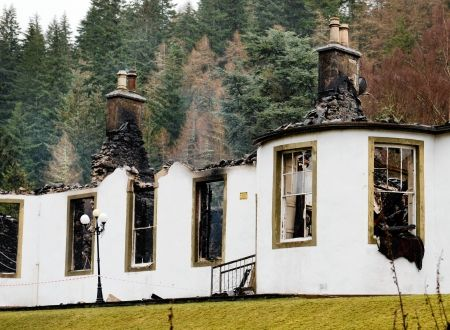 Historic Loch Ness house fire not thought to be deliberate