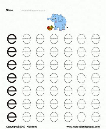 Printable Small Letter Dot To Dots E Coloring Worksheets Free Online Coloring Pages Small Letters Worksheets Lettering Tracing letters for preschoolers online