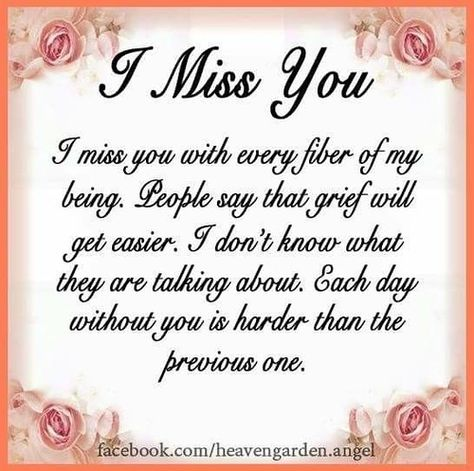 I miss you | I miss you -- Delivered by Feed43 service | Quotes of The day | Flickr