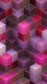 Abstract Cube Mobile Wallpaper In 2019 Infinity Wallpaper