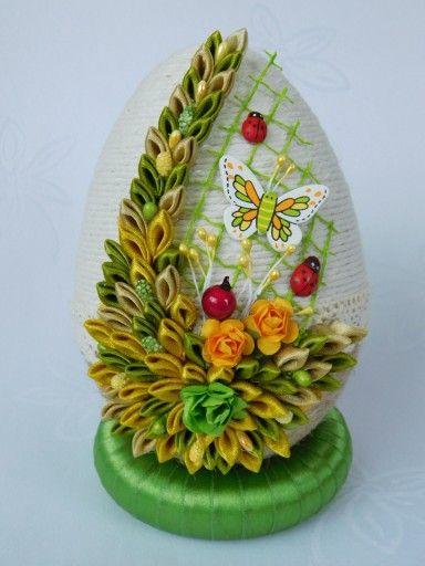 Piekne Jajko Pisanka Ozdoby Wielkanocne Rekodzielo 7165947305 Oficjalne Archiwum Allegro Easter Mason Jars Easter Crafts Easter Egg Decorating