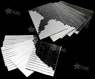 Glass And Mosaics 163778 5 10mm Thick Sheets Rear Glass Mirror Mosaic Border Tiles 600 150pcs X 5 Buy It Now Only Mirror Mosaic Glass Mirror Border Tiles