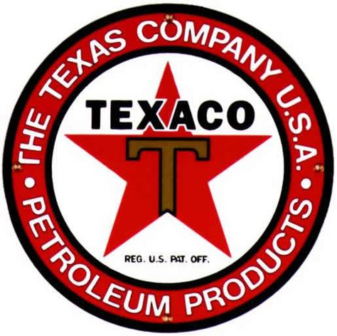 texaco pet sign