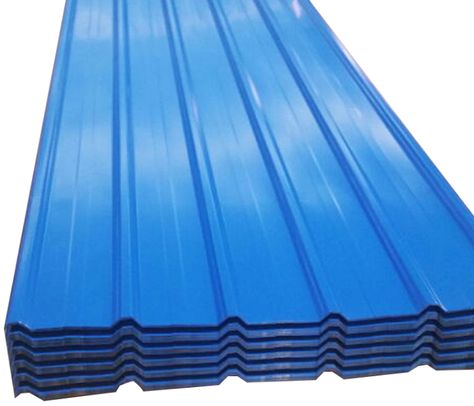 0 25mm Thickness 1050mm Width Sea Blue Corrugated Roof Sheet Exporting To Mogadishu Port Somalia Iron Sheet Blue Roof Roofing Sheets