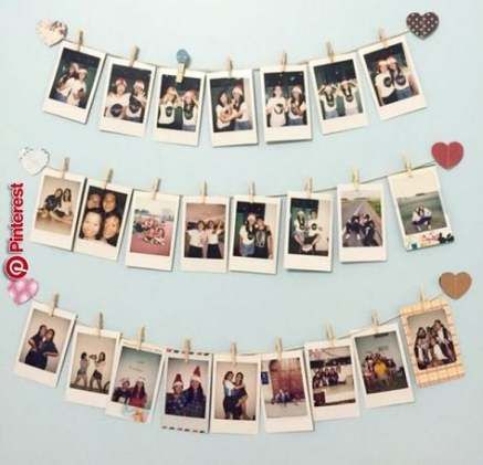 49 Ideas wall art collage ideas polaroid #wall