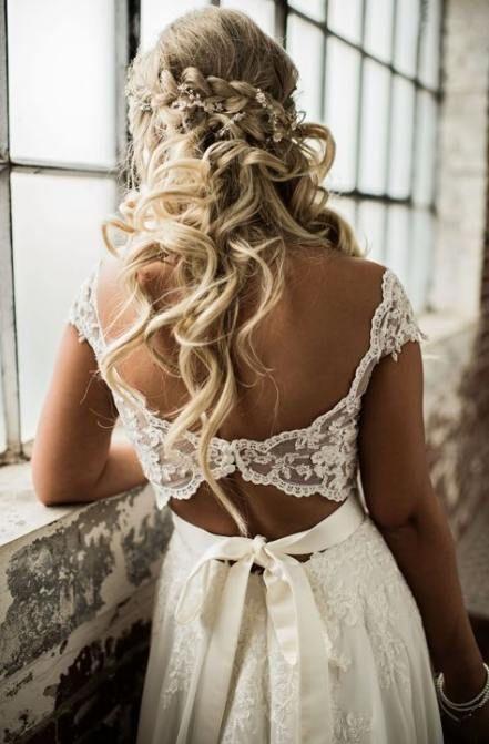 New Wedding Hairstyles Bohemian The Dress Ideas Wedding Dresses