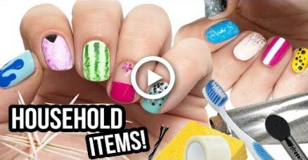 10 Nail Art Designs Using HOUSEHOLD ITEMS! | The Ultimate ... Nail Designs At Home Items on at home highlights, at home art, at home accessories, at home spa, at home halloween costume ideas, at home tips, at home straightening, at home christmas, at home tattoos, at home hair extensions, at home fake nails, at home waxing, at home clothes, at home makeup, at home pink, at home guitar room, at home microdermabrasion, at home diy, at home acrylics, at home color,