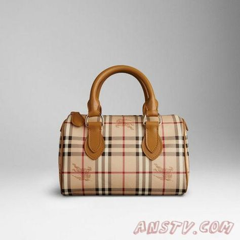 Burberry 38161431 SMALL HAYMARKET BOWLING BAG
