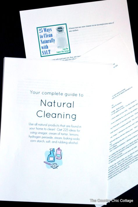 Spring Cleaning Bundle: Your complete guide to natural cleaning!