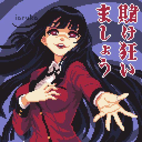 World of Our Fantasy Pixel Art Anime, Anime Art, Fanarts Anime, Manga Anime, Aesthetic Art, Aesthetic Anime, Kawaii Anime, Arte 8 Bits, Art Mignon