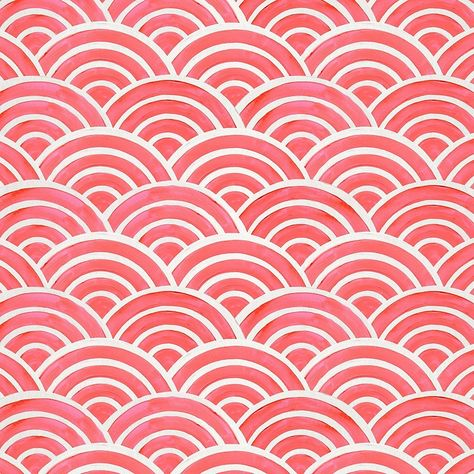 Michael Miller Bekko Home Decor Swell Tangerine - living room curtains
