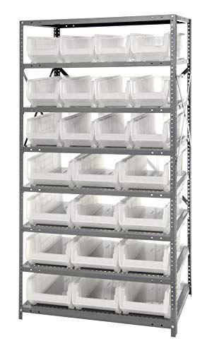 Quantum Storage Solutions Tip Out Bin Stand Single Sided 4 Qtb303 2 Qtb304 2 Qtb305 1 Qtb306 Ivory Tip Out Bins 8 Storage Bins Clear Bins Bins