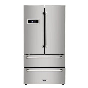 Chambers 7 Cu Ft Counter Depth Bottom Freezer Refrigerator Wayfair French Doors French Door Refrigerator Dual Fuel Ranges