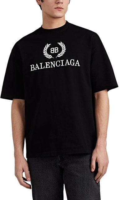 1b939972ffde We Adore: The Laurel-Logo Cotton T-Shirt from Balenciaga at Barneys New York