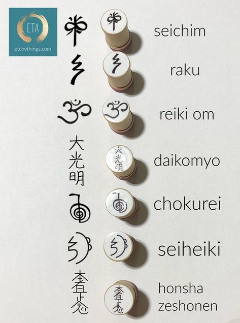 Reiki Stamp Set