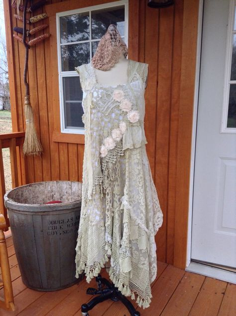 A personal favorite from my Etsy shop https://www.etsy.com/listing/227042359/meadow-rain-crochet-dress-wedding-mother