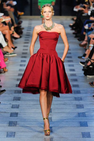 Zac Posen Spring 2012 - Zac Posen's Most Incredible Runway Gowns - Photos
