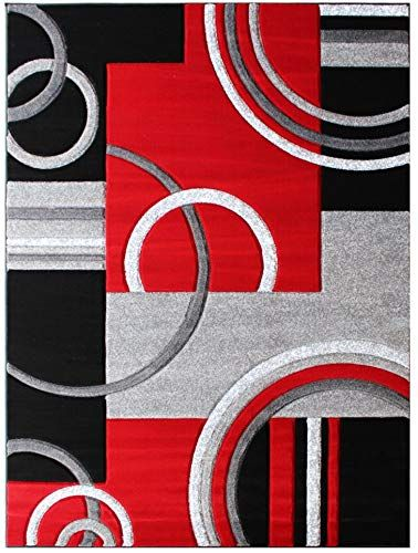 Amazing Offer On Masada Rugs Sophia Collection Hand Carved Area Rug Modern Contemporary Red Grey Black 6 Feet X 9 Feet Online Topusashoppingsites In 2020 Modern Area Rugs Modern Rugs Rugs