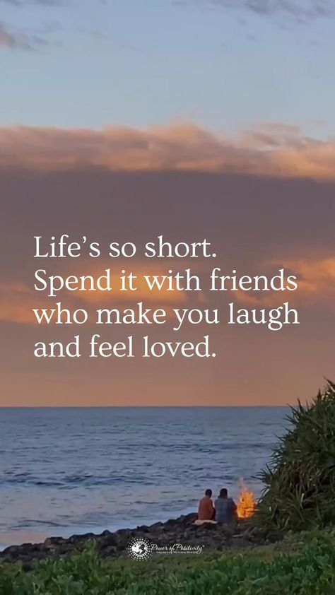 Life's short…