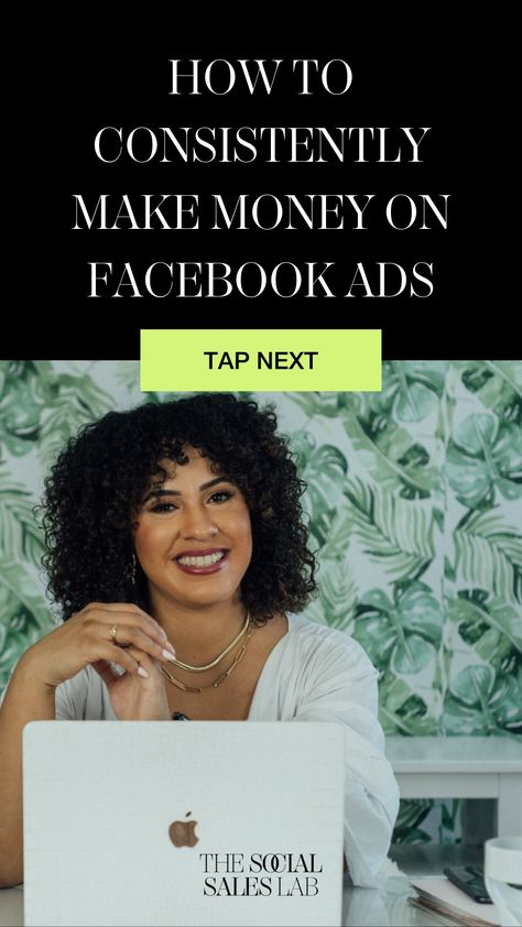 How to consistently make money on Facebook ads