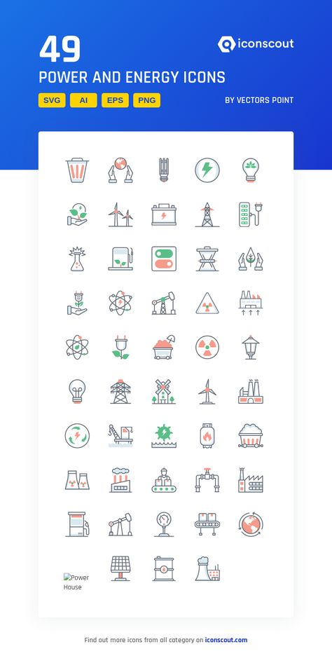 Download Power And Energy Icon pack - Available in SVG, PNG, EPS, AI & Icon fonts