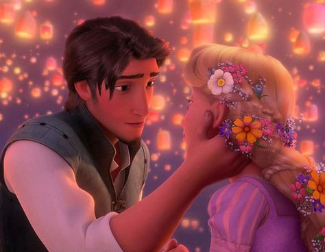Rapunzel and Flynn Article: Why I love Eugene & Rapunzel from Disney's 50th Tangled