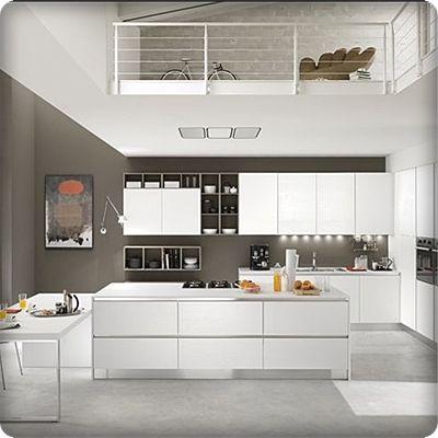 Cucina Moderna Cucina Grigia Cappa Cucina In 2020 Kitchen Design Kitchen Home