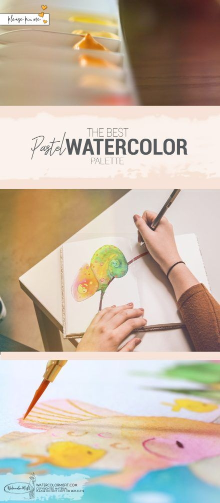 Best Watercolor Pastle Palete Watercolor Misfit Watercolor
