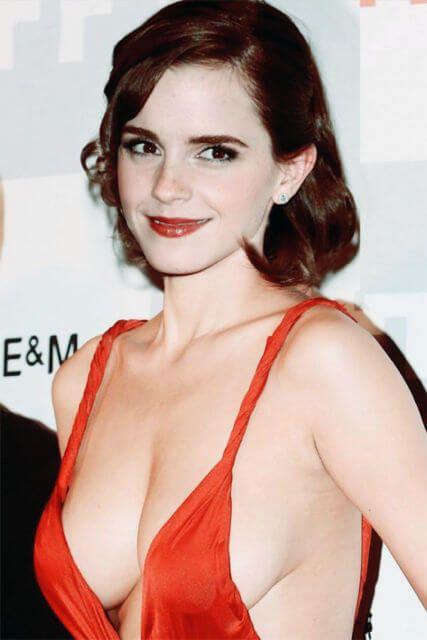 Watson breast emma Emma Watson's
