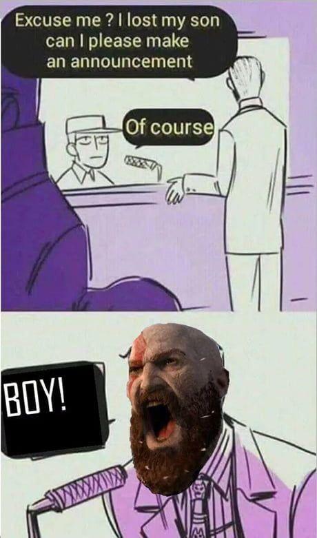 Dad Of War God Of War Memes Funny Pictures