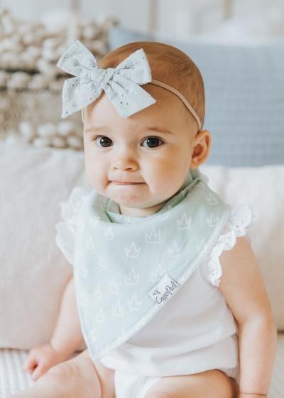 Baby Girl Bib Gift Set Peony Bandana Bib Polka Dot Bandana Bib Floral Baby Shower Gift for Girl Gift for New Mom