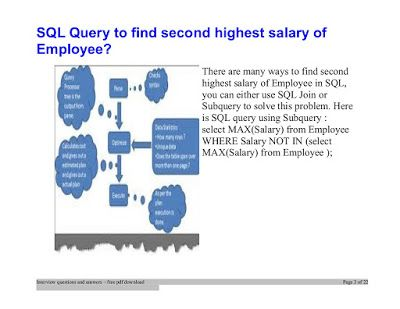 How do you find the second highest salary in the employee