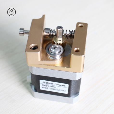 3d Printer Makerbot Mk8 Ekstruder Ekstruzii Alyuminiya Kadr Blok Diy