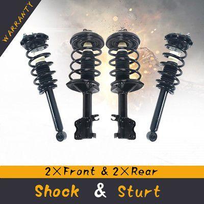 For 2000-2001 Nissan Maxima /& Infiniti I30 Complete Struts Shocks w//Springs x 4