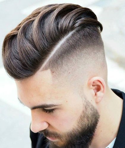 Men S Hairstyles 2018 High Bald Fade With Slick Back Menshairstyles2018 Undercut Fade Hairstyle Best Undercut Hairstyles Mens Hairstyles Undercut