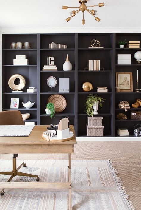 New Home Office Built Ins Ikea Shelves 33 Ideas Home Office