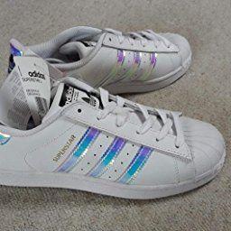 Adelaida Poder Diplomacia  adidas Unisex-Kinder Superstar Low-Top, Blanc (Ftwr White/Ftwr  White/Metallic Silver Sld), 38 2/3 EU: Amazon.de: Schuhe & Handtasche… |  Handtaschen, Schuhe, Taschen