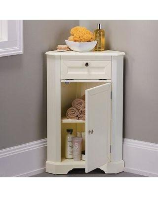 Bathroom Corner Storage Cabinet In 2020 Bathroom Corner Storage