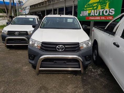 2018 2019 Toyota Hilux Revo Single Cab 4wd Silver Mozambique Cheapest Price Toyota Hilux Toyota Cab