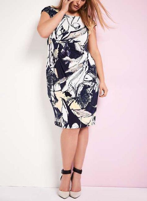 e49690c1d36 Нарядные платья для полных женщин канадского бренда Laura
