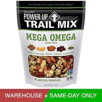 Gourmet Nut Power Up Trail Mix 26 Oz Healthy Snacks Trail Mix