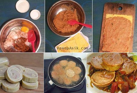 Resep Rolade Daging Ayam Homemade Cukup Pakai 8 Bahan Saja Dengan Gambar Makanan Minuman Resep Resep Masakan Indonesia