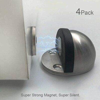 Details About Hutlon Magnetic Door Stop Heavy Duty Dome Shaped