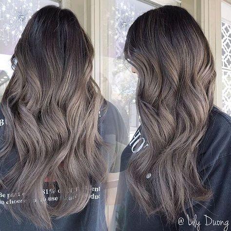 23  Beautiful Ash Brown Hair Color Ideas - iHairstyles Website