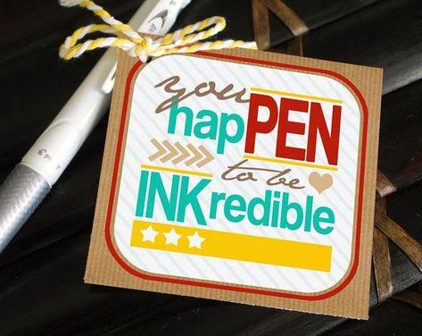 Printable Teacher Gift Tag Happen to be an incredible Nurses Week Gifts, Staff Gifts, Volunteer Gifts, Student Gifts, Nurse Gifts, Teacher Gift Tags, Teacher Treats, Teacher Stuff, Cheer Gifts